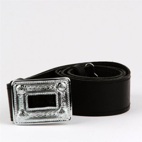 Celtic buckle and kilt belt