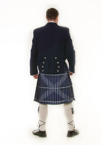 Ancient Saltire Kilt Rear
