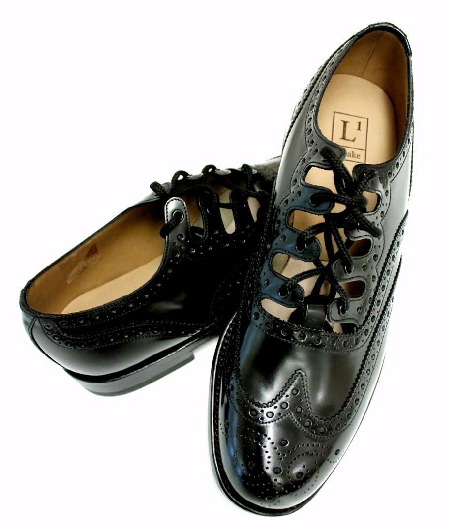 Loake Adult Ghillie Brogue Kilt Shoes