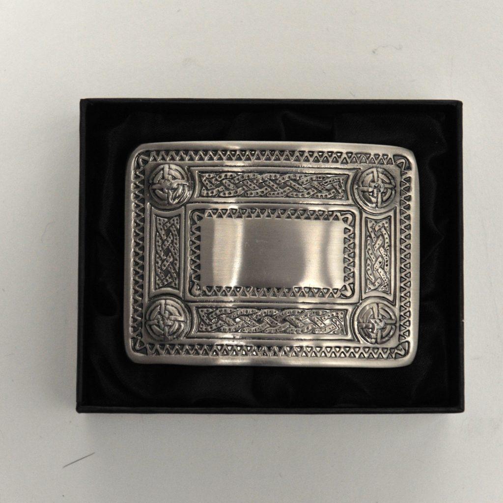 Tartan City Mens Celtic Kilt Belt Buckle Thistle Antique Finish//Celtic Kilt Belt Buckle Celtic 4 Dome Mirror