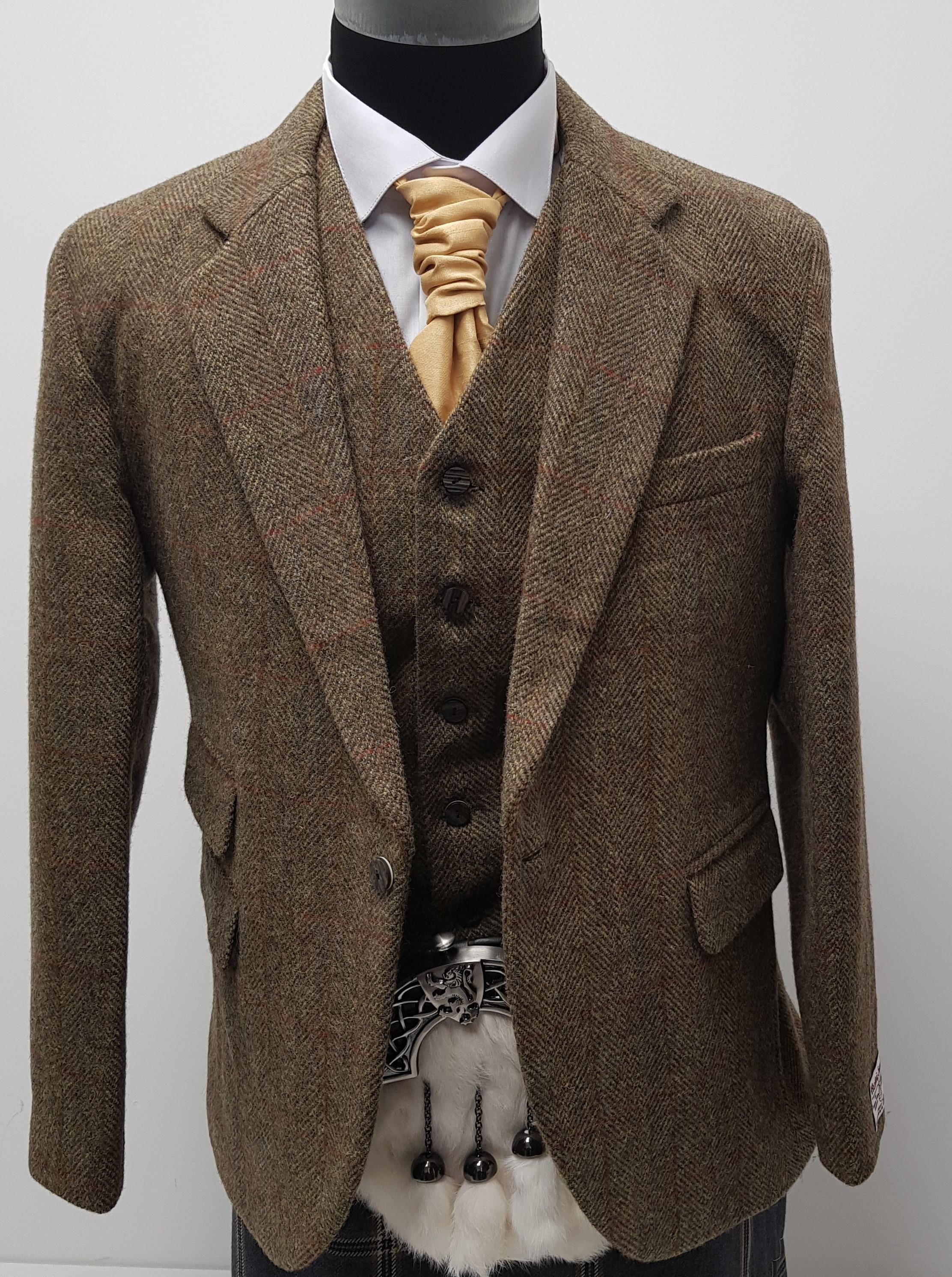 Guide Work Jacket Harris Tweed My Style T Tweed