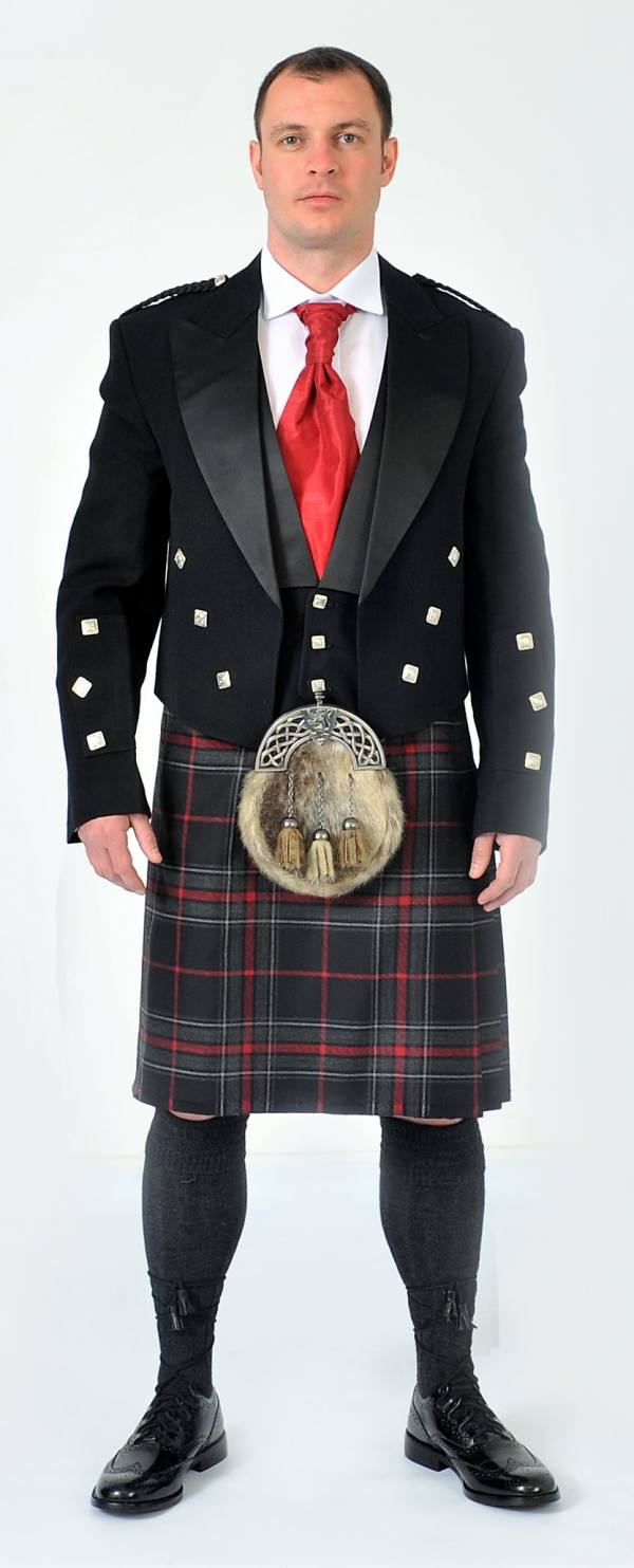 Spirit Of Bruce Full Kilt Set