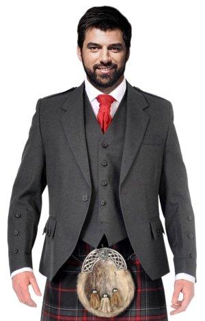 York Grey Kilt Jacket & Vest Special Offer