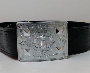 Thistle Belt & Buckle Set