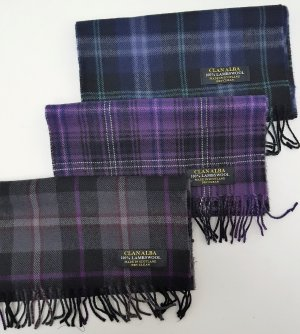Passion Of Scotland Scarfs Choice of 3 tartans