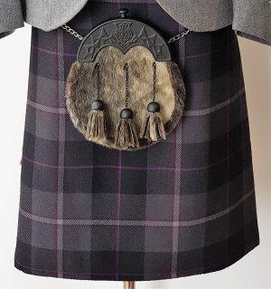 8 Yard Bulk Buy Passion Of Scotland Pewter Kilt