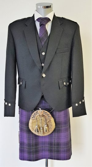 Passion Of Scotland Purple 8 yard Full Package Offer