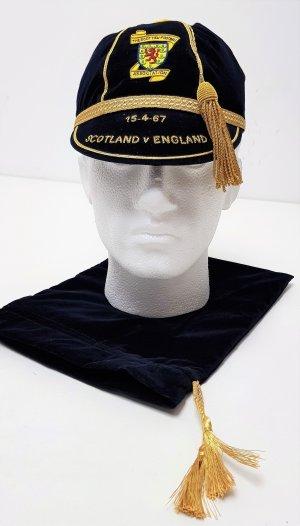 Scotland vs England 1967 International Football Replica Commemorative Velvet Cap