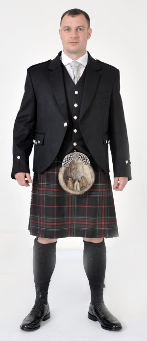 Ready Made: Spirit Of Bruce Modern 8 yard Kilt Full Package Offer