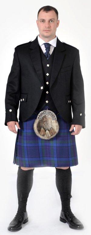 Spirit of Scotland 8 Yard Kilt Full Highland Dress Package