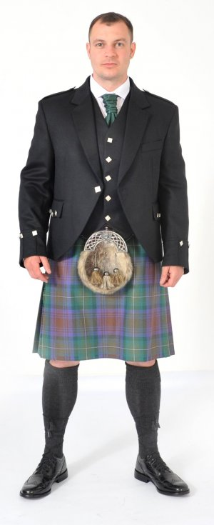8 Yard Kilt Isle of Skye Full Highland Dress Package